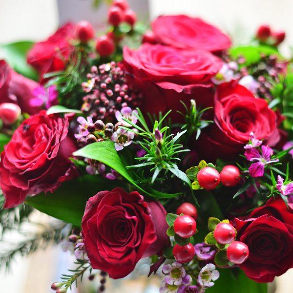 Valentines Jar - Aranjman - Lunlun Çiçek