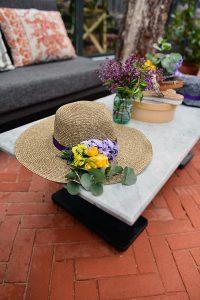 Çiçekli şapkalar  / Butigo Bahar 2017 Lansmanı- Lunlun Çiçek