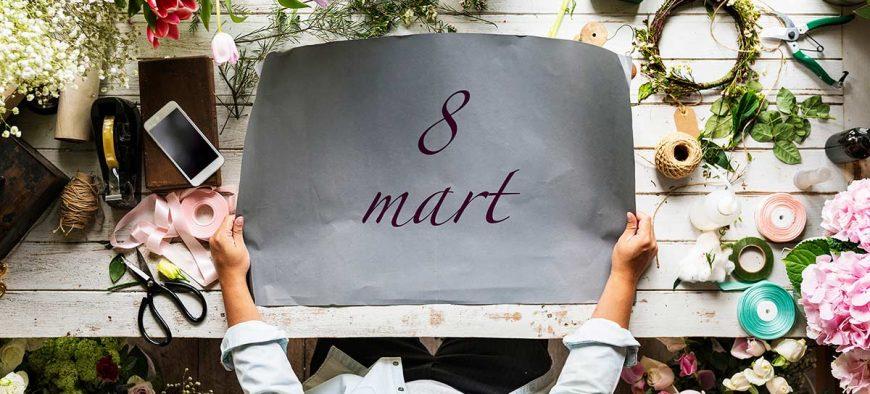 8 Mart Kadınlar Günü – Toplu Gönderim Alternatifleri
