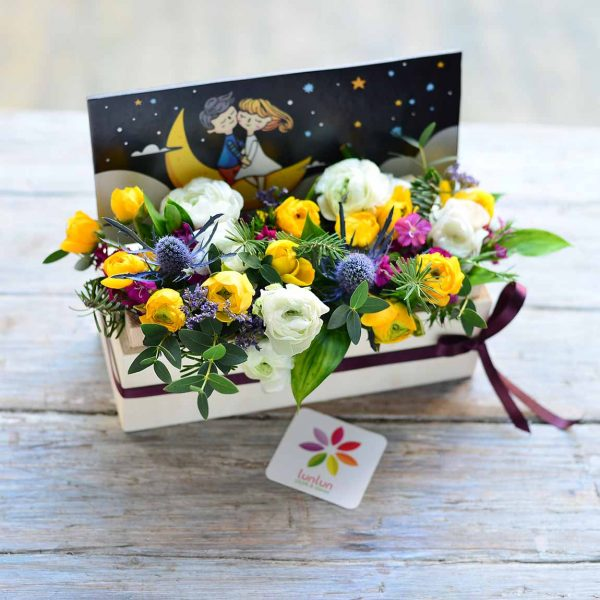 Just Yellow - Aranjmanlar - Lunlun Çiçek