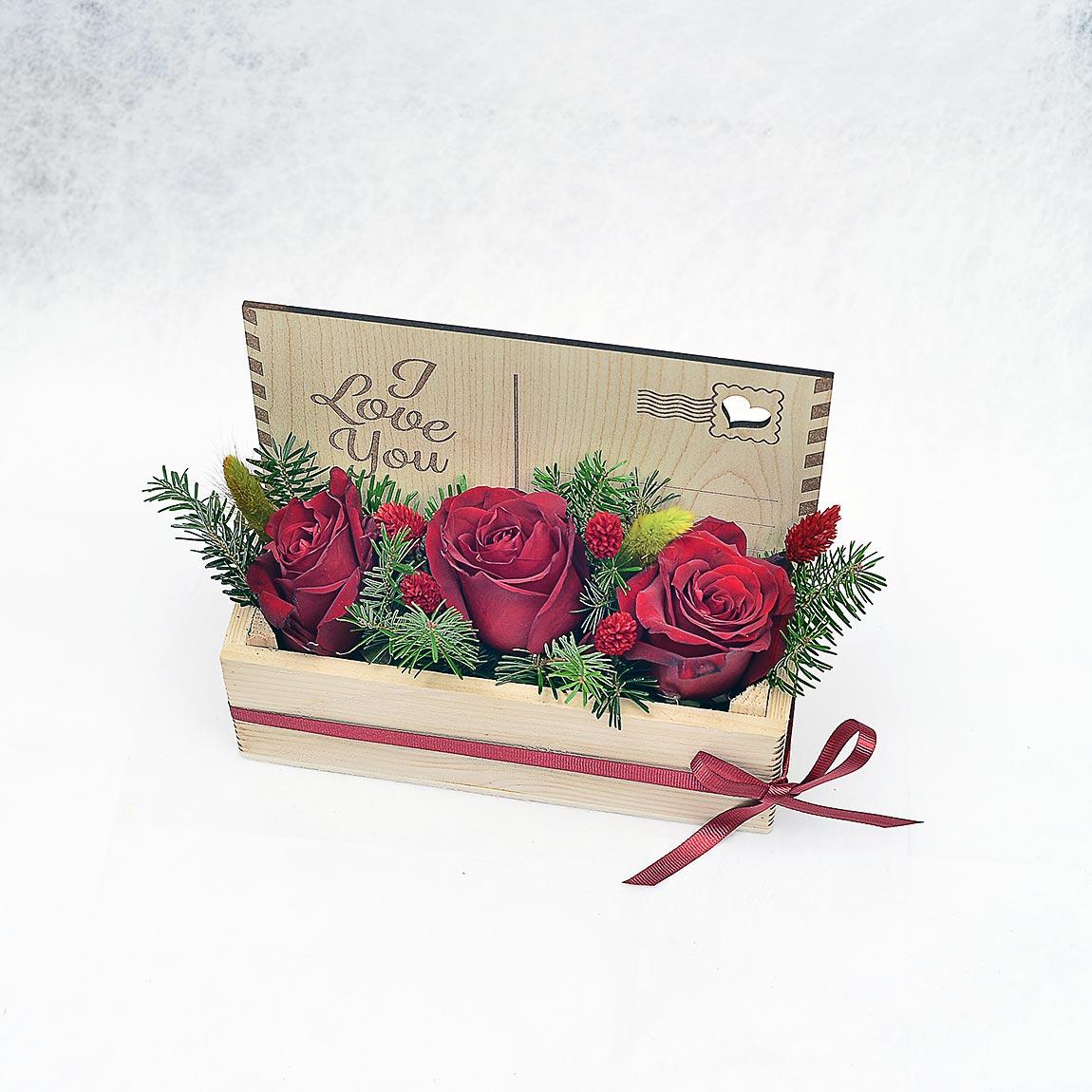 Aşk Mektubu - Aranjmanlar - Lunlun Çiçek