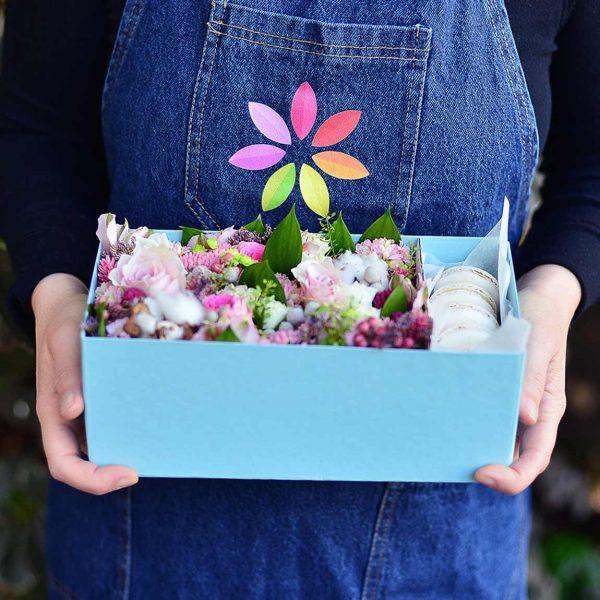 Softbox - Aranjmanlar - Lunlun Çiçek