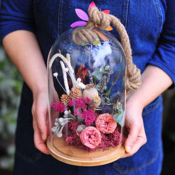 Pembe Aşk - Kalıcı ve Solmayan - Lunlun Çiçek