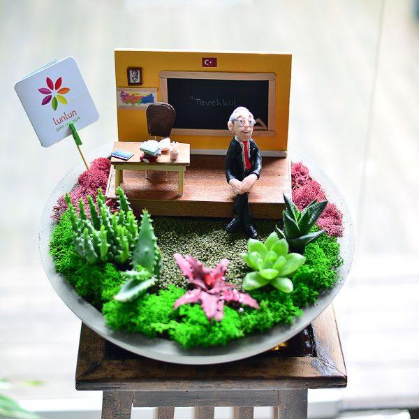 Bizim Sınıf - Temalı Terrariumlar -  Lunlun Çiçek