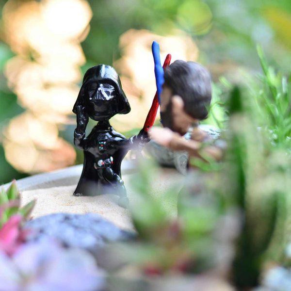 Star Wars - Rough Two- Temalı Terrariumlar -  Lunlun Çiçek